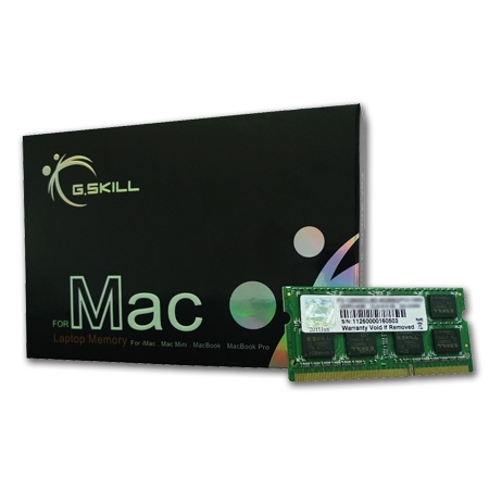 G.Skill SO-DIMM 4GB DDR3-1066 Kit