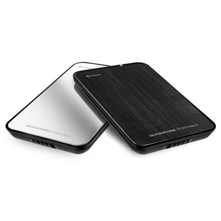 "Sharkoon QuickStore portable 2,5"" stříbrná/černá"