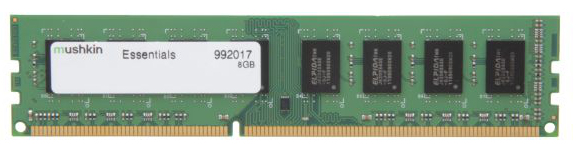 Mushkin DIMM 8GB DDR3-1333 Essentials-Serie