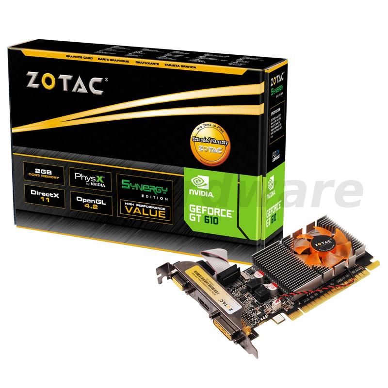 Zotac GeForce GT 610 Synergy 2GB