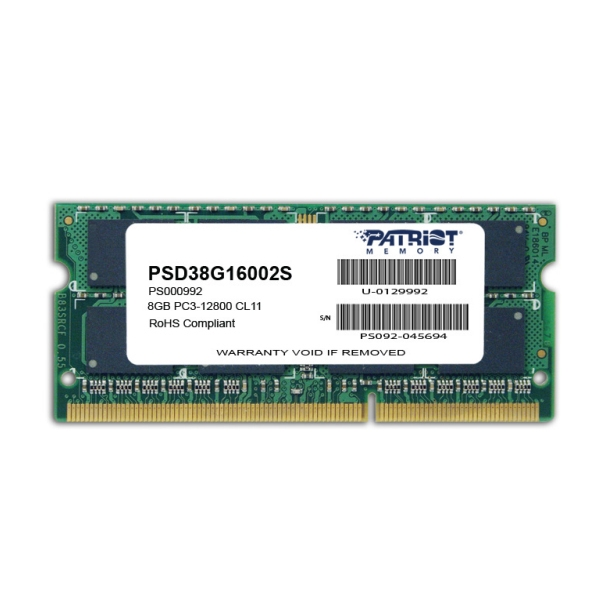 Patriot SO-DIMM 8GB DDR3-1600