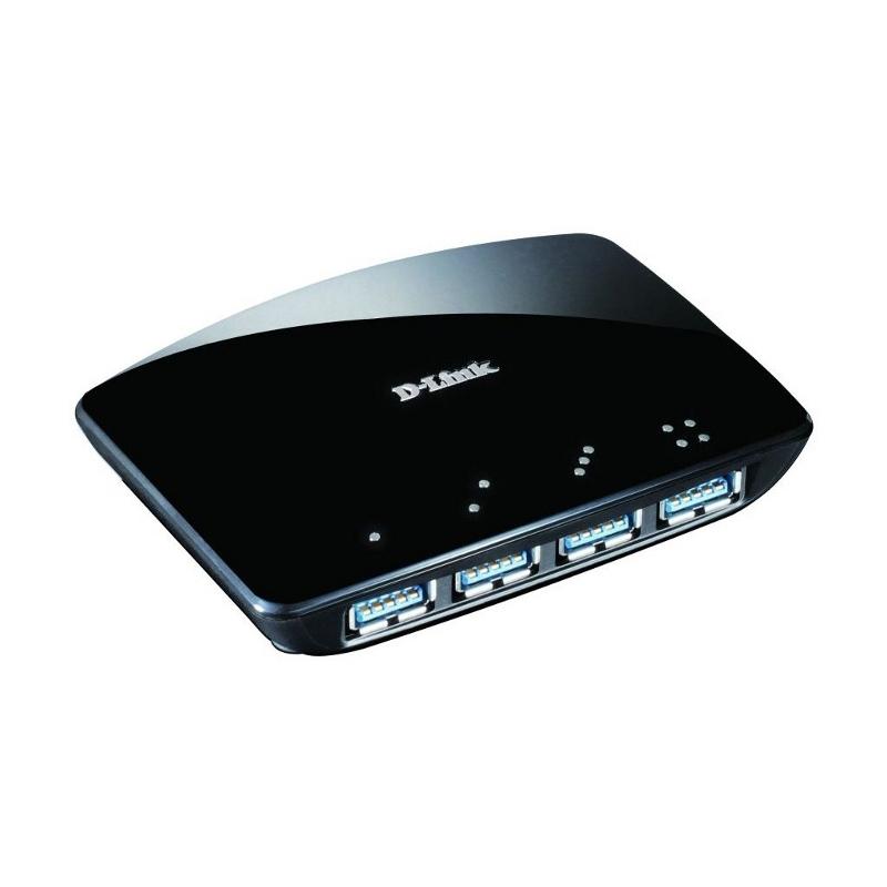 D-Link USB 3.0 Hub 4-Port DUB-1340