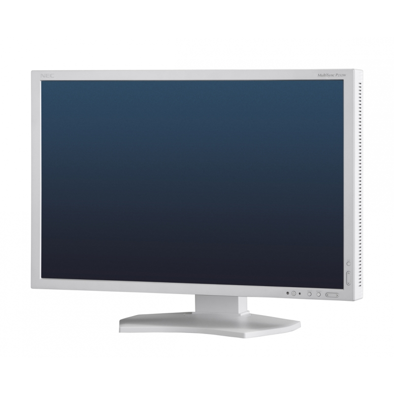 NEC MultiSync P232W stříbrná/šedá