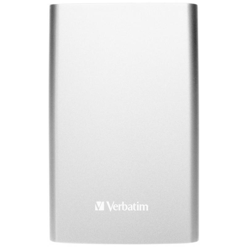 Verbatim Store n Go UltraSlim 500GB stříbrná