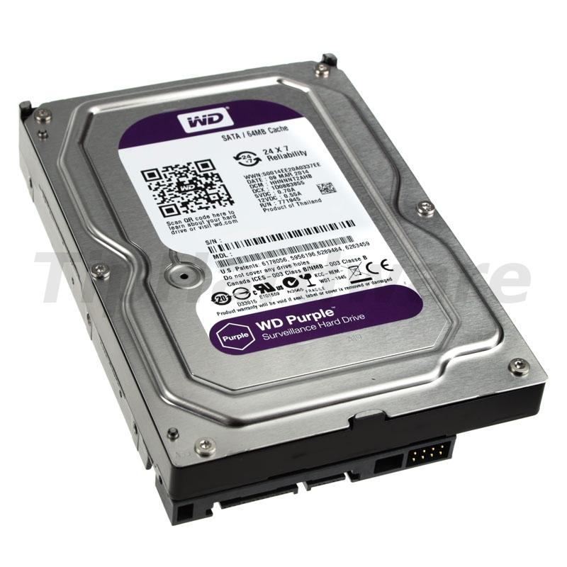 Western Digital WD40PURX 4TB