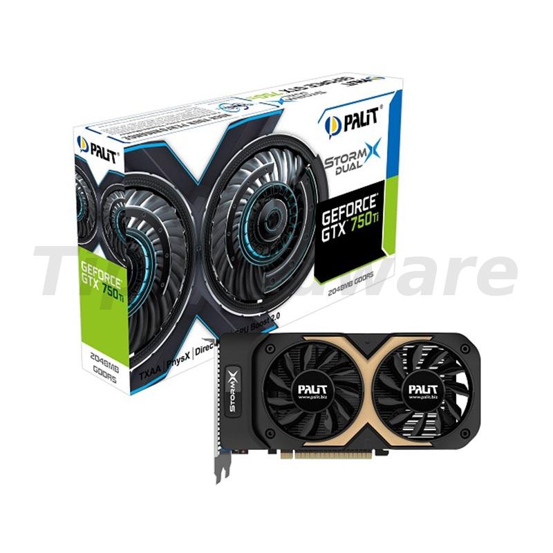 Palit GeForce GTX750 Ti OC StormX Dual