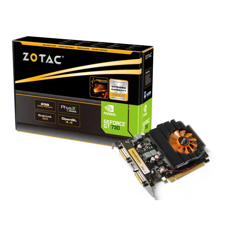 Zotac GeForce GT 730 2GB 128 Bit