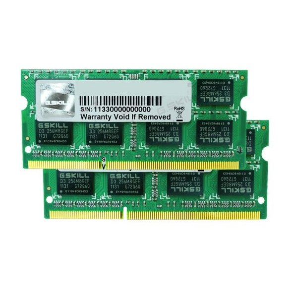 G.Skill SO-DIMM 8GB DDR3-1333 Kit