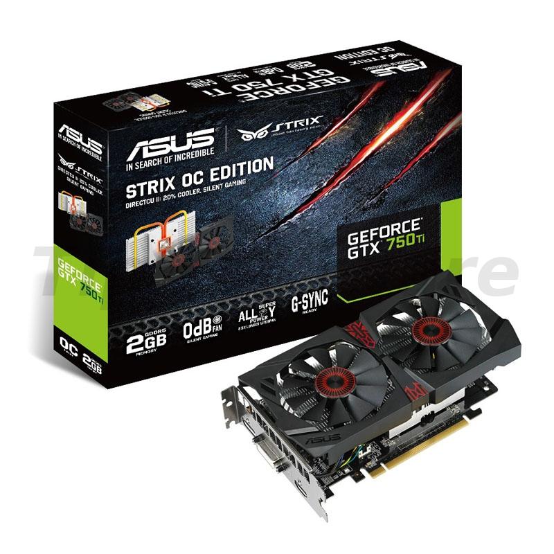 Asus Asus2GB D5 X STRIX GTX750TI-OC R