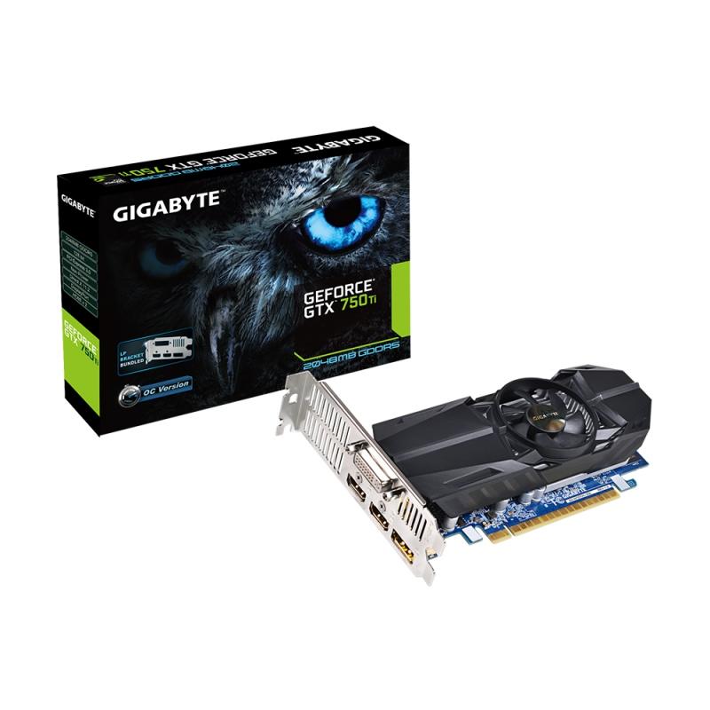 GigaByte 2GB D5 X GTX750 Ti OC LP R