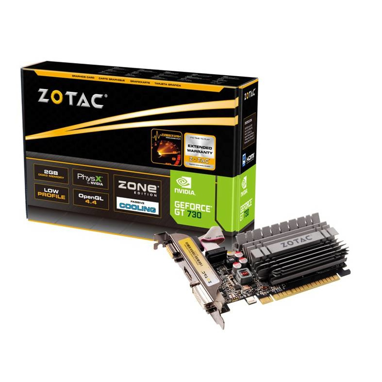 Zotac 2GB GT730 ZONE