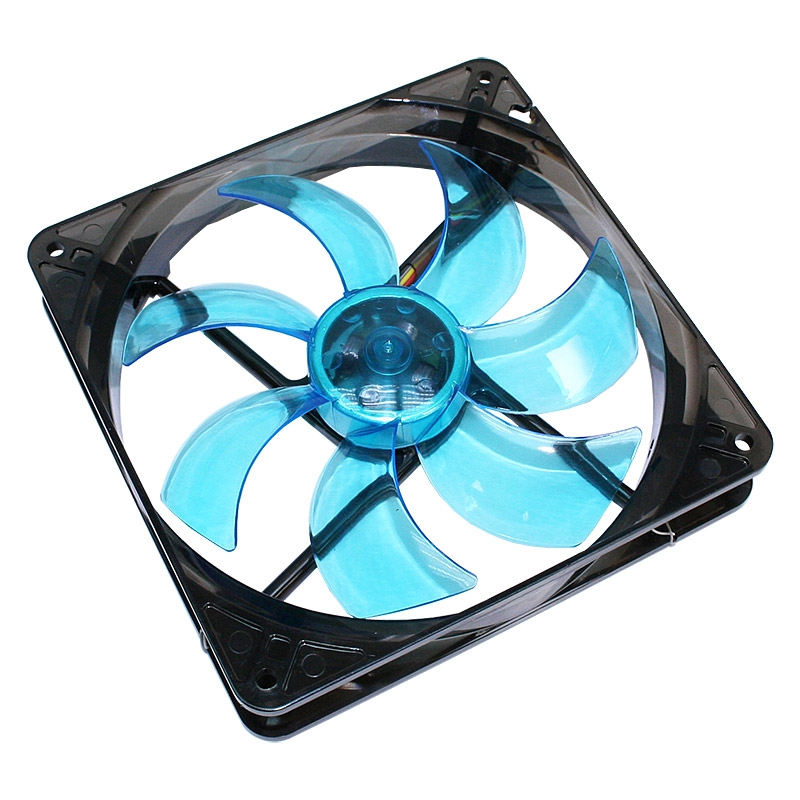 Cooltek CT-Silent Fan 140 LED modrá 140x140x25