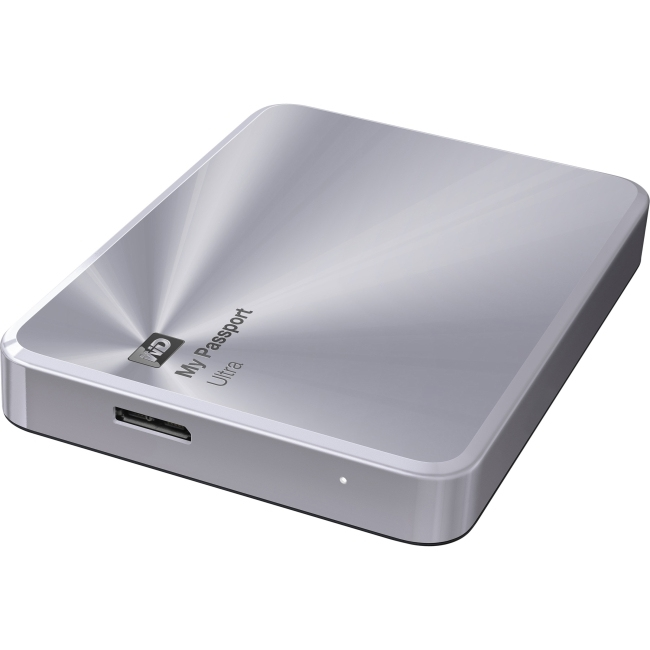 Western Digital My Passport Ultra Metal Edition 1TB stříbrná