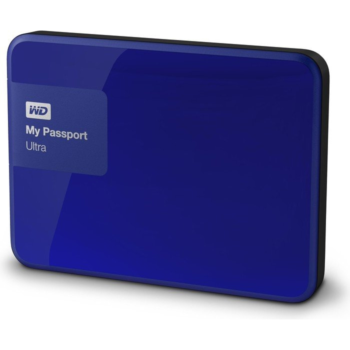 Western Digital My Passport Ultra 500GB modrá