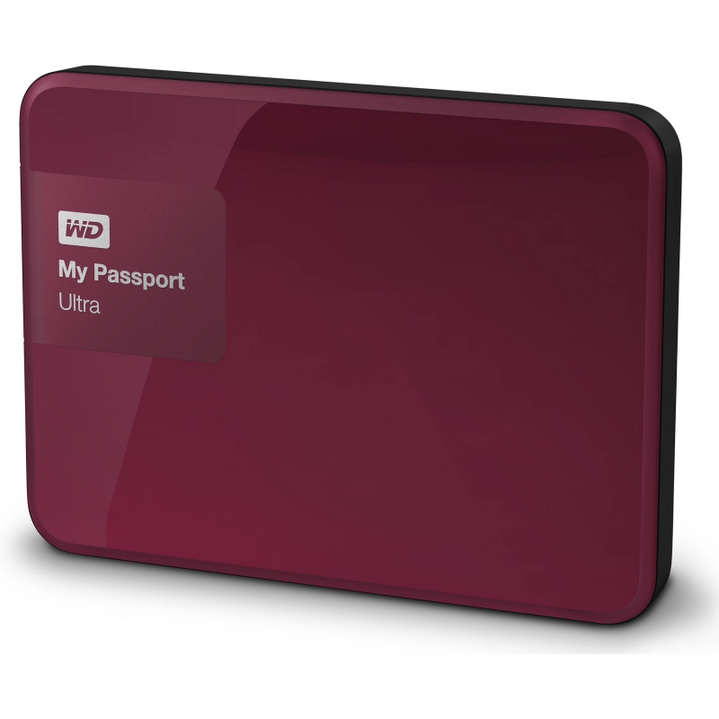 Western Digital My Passport Ultra 500GB červená