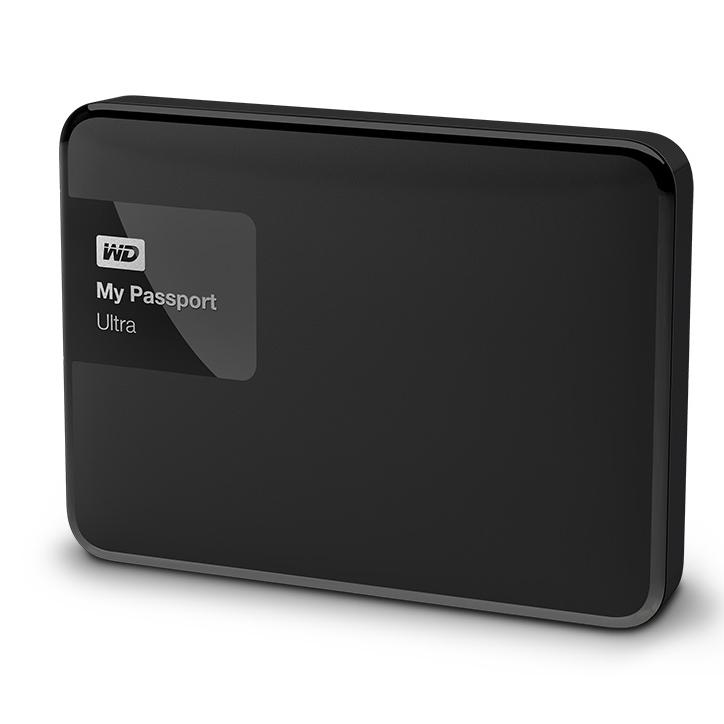 Western Digital My Passport Ultra 2TB černá
