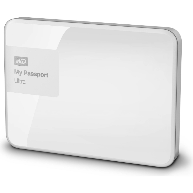 Western Digital My Passport Ultra 2TB bílá
