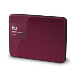 Western Digital My Passport Ultra 3TB červená