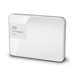 Western Digital My Passport Ultra 3TB bílá