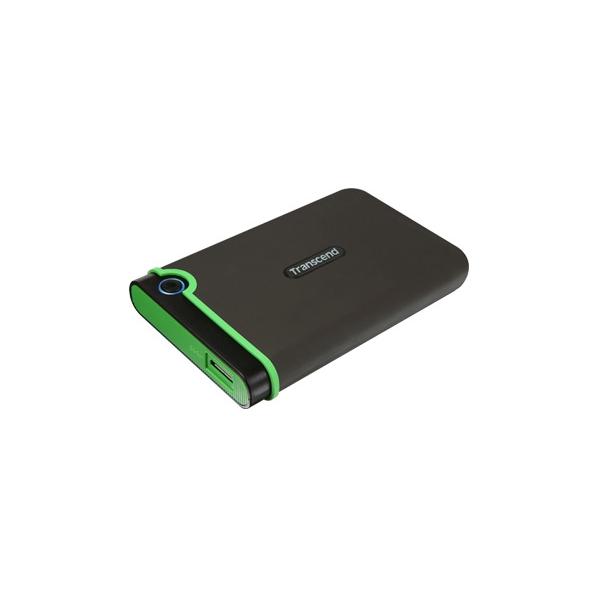 Transcend StoreJet 25M3 2TB černá/zelená