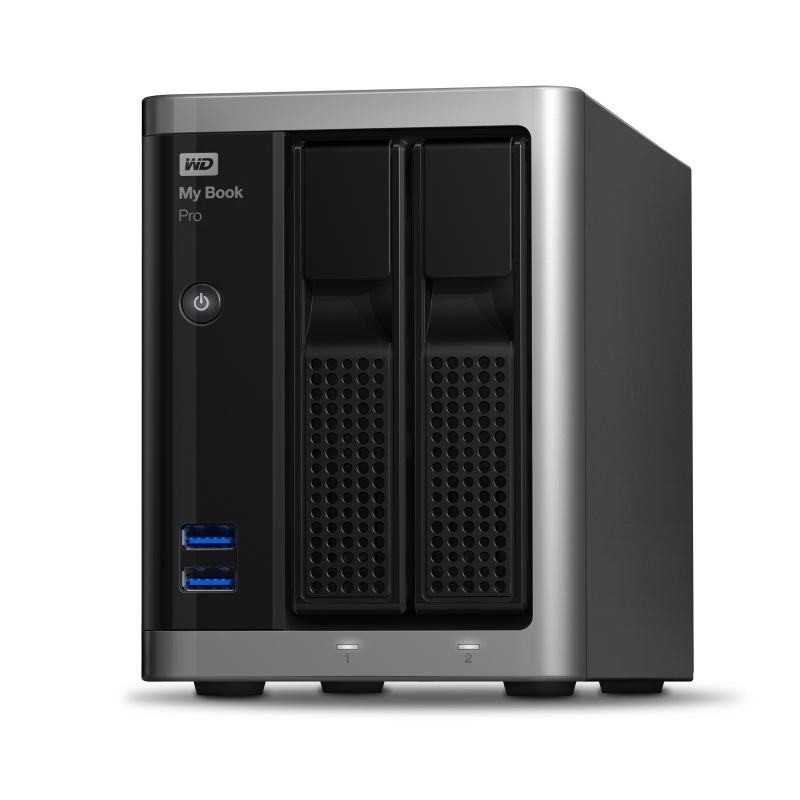 Western Digital 6TB My Book Pro 2xTB/U3
