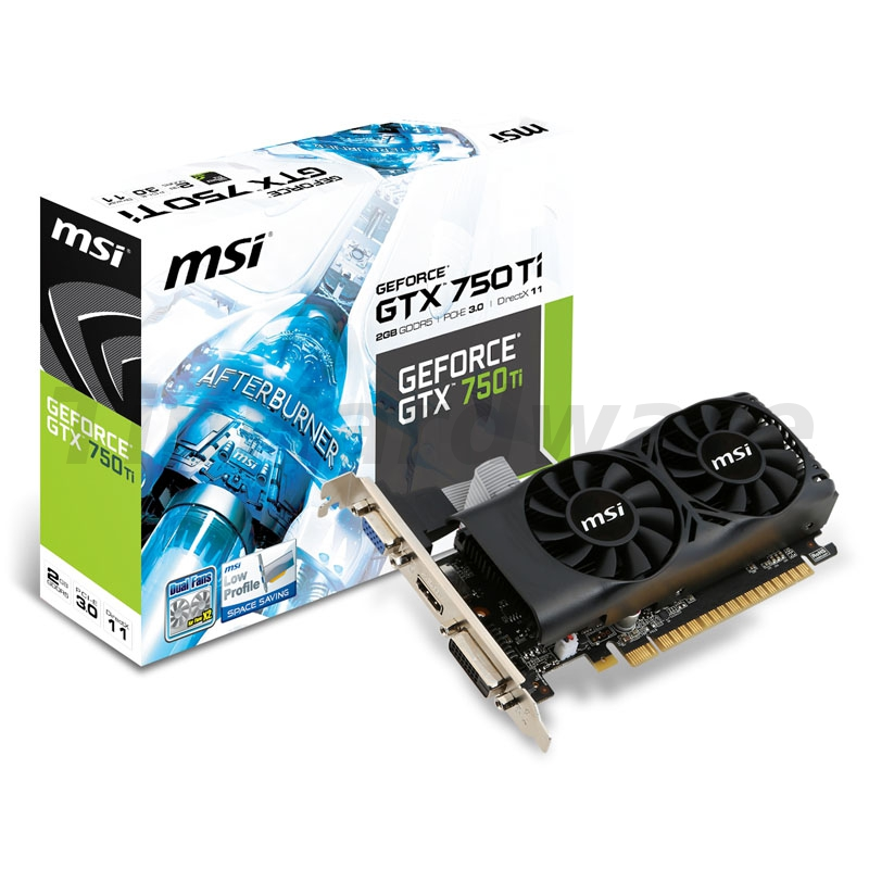MSI GeForce GTX 750Ti-2GD5TLP