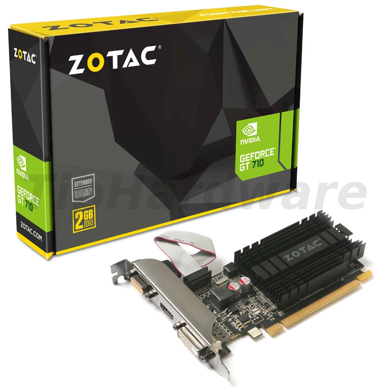 Zotac GeForce GT 710 ZONE Edition 2GB