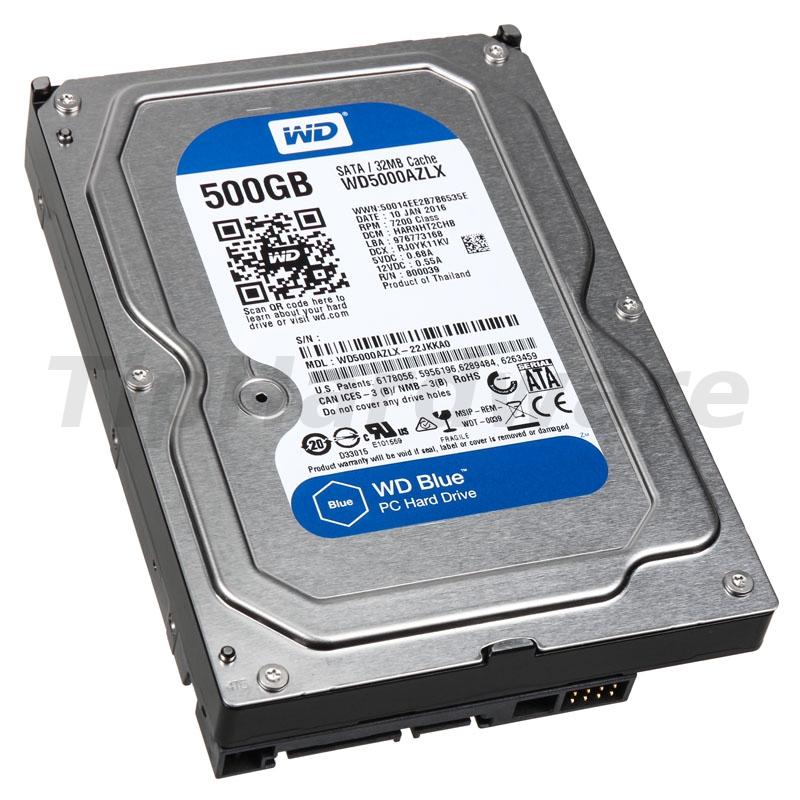 Western Digital WD 500GB WD5000AZLX Blue SA3