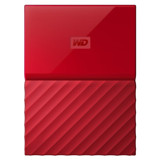 Western Digital My Passport 1TB červená