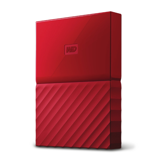 Western Digital My Passport 3TB červená