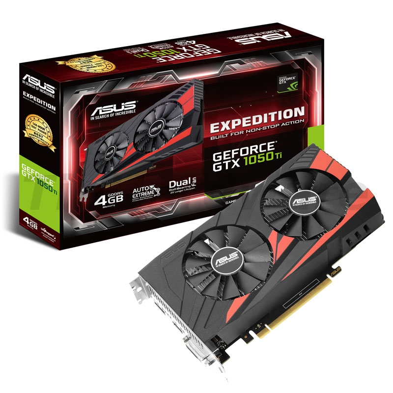 Asus GeForce GTX 1050 Ti Expedition