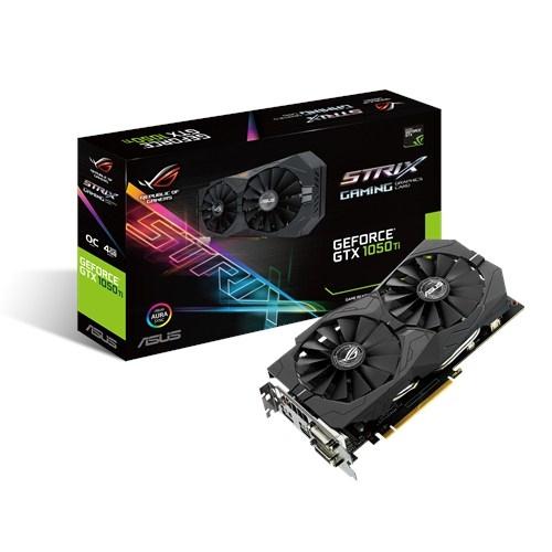 Asus GeForce GTX 1050 Ti STRIX OC GAMING
