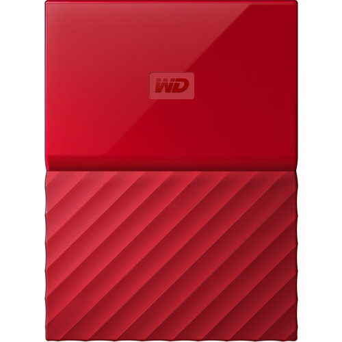 Western Digital My Passport 4TB červená
