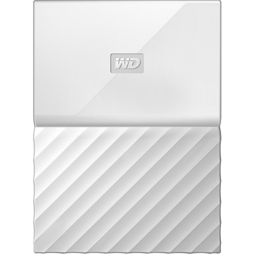 Western Digital My Passport 4TB bílá