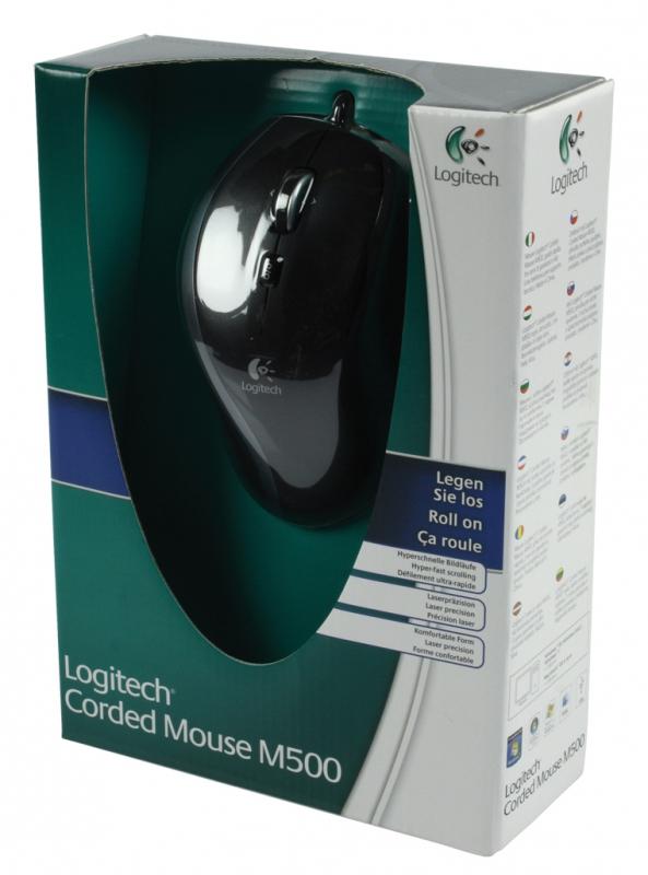 Logitech M500 Corded Mouse