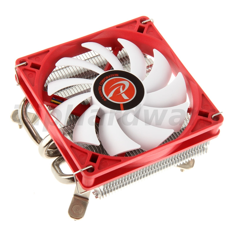RAIJINTEK Zelos Heatpipe CPU Cooler, PWM - 90mm