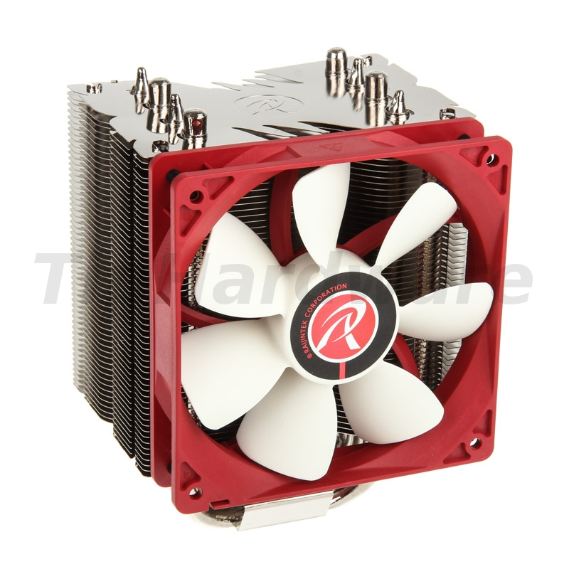 RAIJINTEK Themis Evo Heatpipe CPU-Cooler, PWM - 120mm