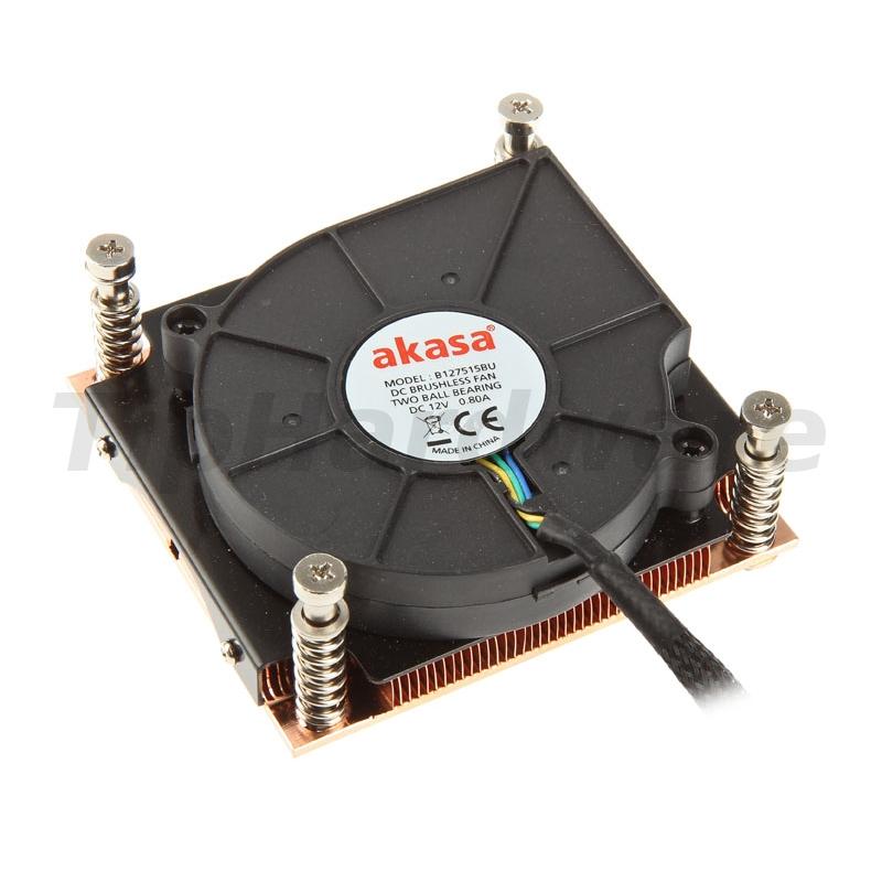 Akasa AK-CCE-7107BP 1U Intel LGA 775 a 115X