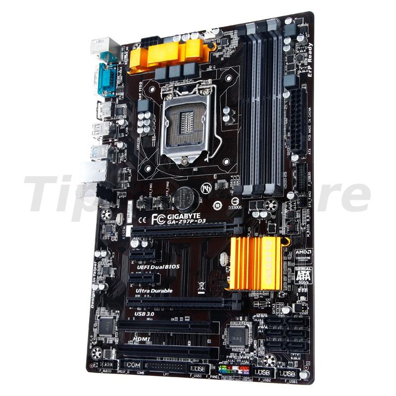Gigabyte Z97P-D3, Intel Z97 Mainboard - Socket 1150