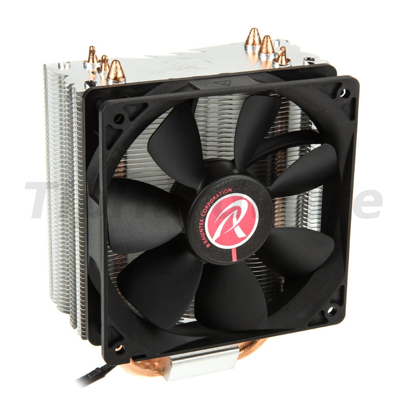RAIJINTEK Themis Black, Heatpipe CPU Cooler, PWM - 120mm