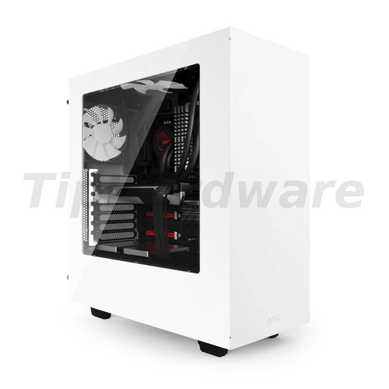 NZXT SOURCE 340 Midi-Tower - white Window