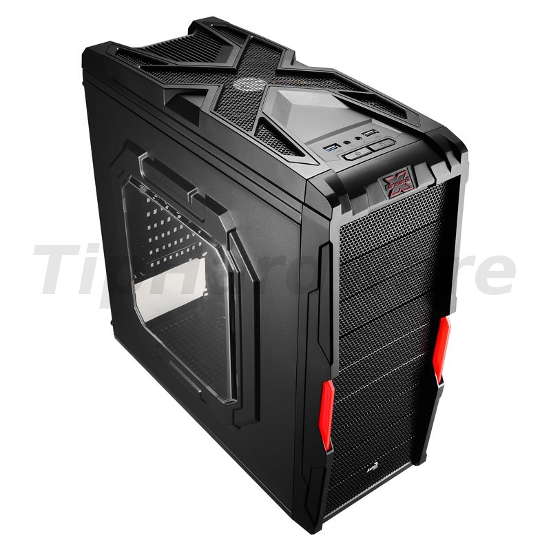Aerocool Strike-X Coupe Midi-Tower - black