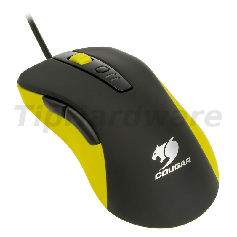 Cougar 300M optical Gaming Mouse - yellow