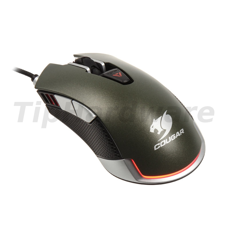 Cougar 530M optical Gaming Mouse - Army green