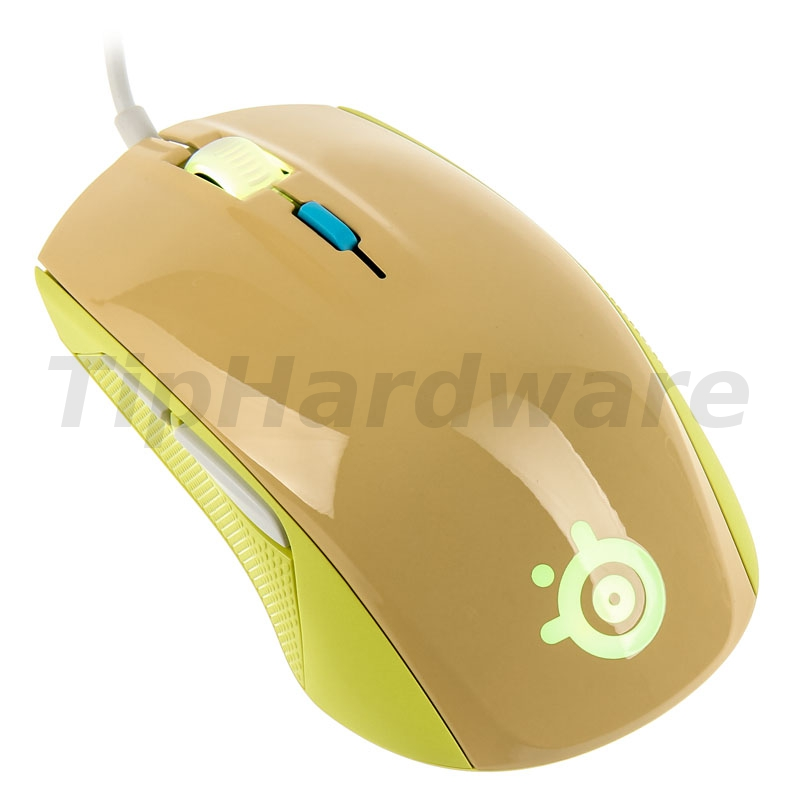 SteelSeries Rival 100 optical Gaming Mouse - Gaia Green