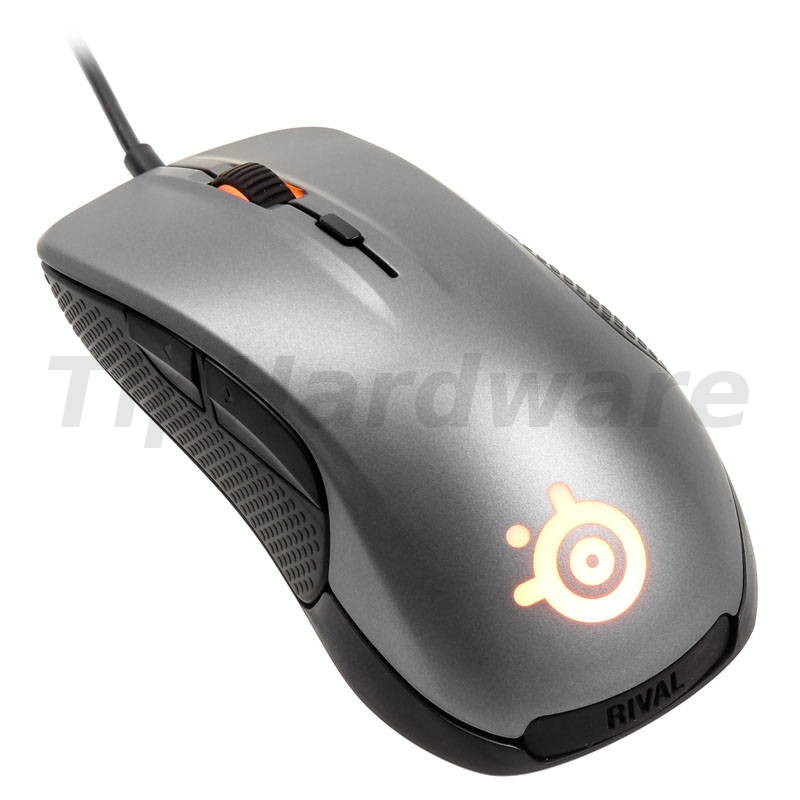 SteelSeries Rival 300 Gaming Mouse - silver