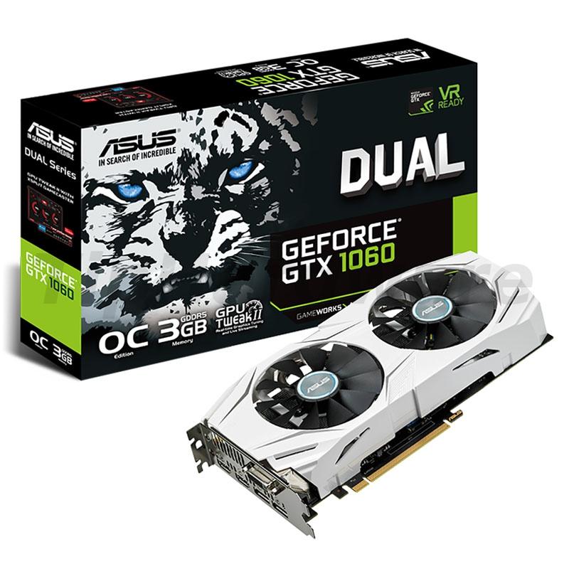 ASUS GeForce GTX 1060 Dual O3G, 3072MB GDDR5