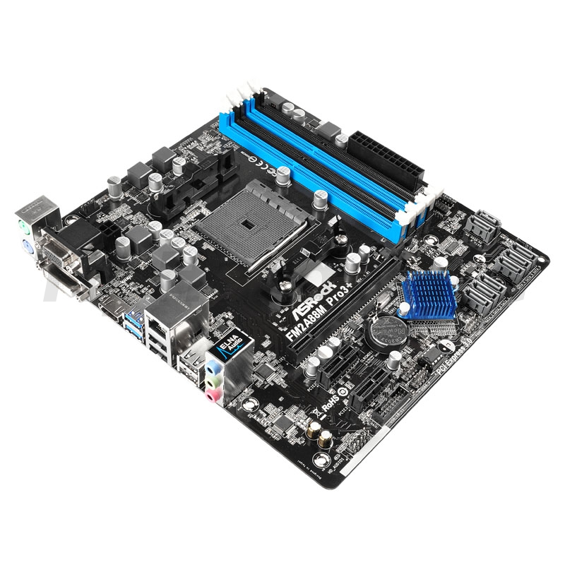 ASRock FM2A88M Pro3+, AMD A88X Mainboard - Socket FM2+