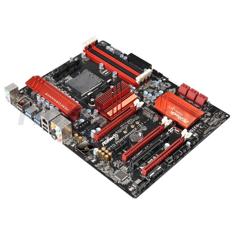 ASRock 970 PERFORMANCE/3.1, AMD 970 Mainboard - Socket AM3+
