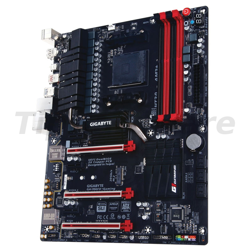 Gigabyte GA-990FX-Gaming, AMD 990FX Mainboard - Socket AM3+